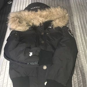 Joshua Perets Puffer Coat